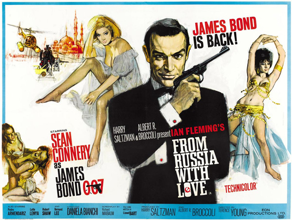 'From Russia With Love' movie poster