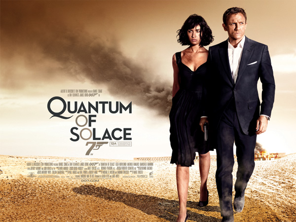 'Quantum of Solace' movie poster