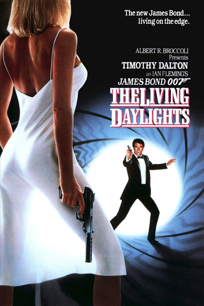 'The Living Daylights' movie poster