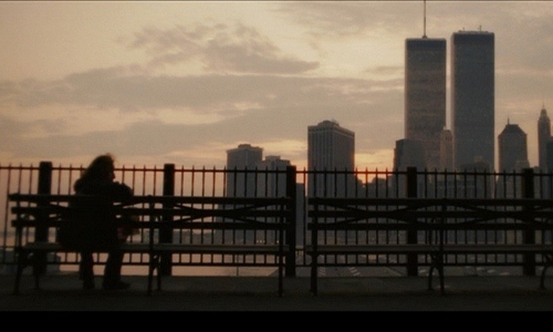 Downtown Manhattan seen from Brooklyn during the 1990s in 2008's 'The Wackness'