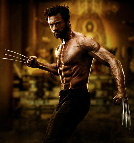 Hugh Jackman in first official photo for 'The Wolverine'