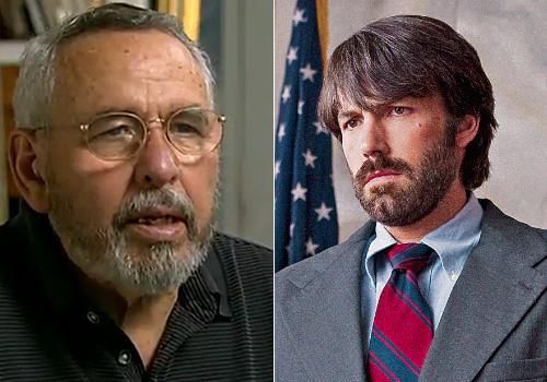 Ben Affleck, who is white, plays Tony Mendez, an Hispanic, in 'Argo'