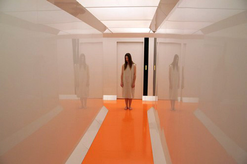Elana makes her escape in 'Beyond The Black Rainbow'