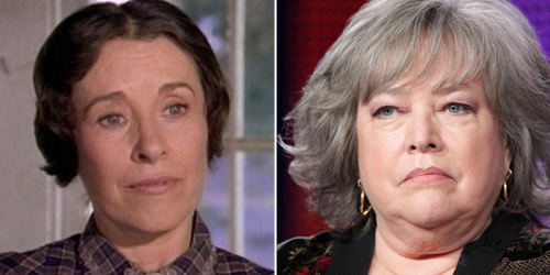 'Little House on the Prairie''s resident villain, played with perfect pitch by Katherine MacGregor - Kathy Bates has the perfect balance of biting wit, cutting glare and sympathetic charm to make the role come alive