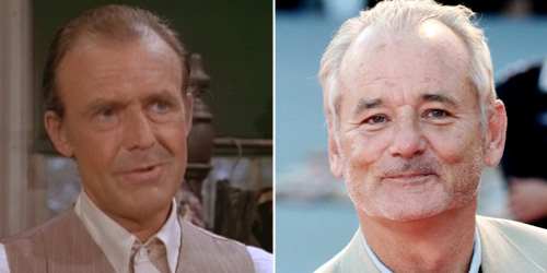 Richard Bull played Nels Oleson to perfect as the often tortured husband to Harriet - Bill Murray has the presence and charm to make that role his own