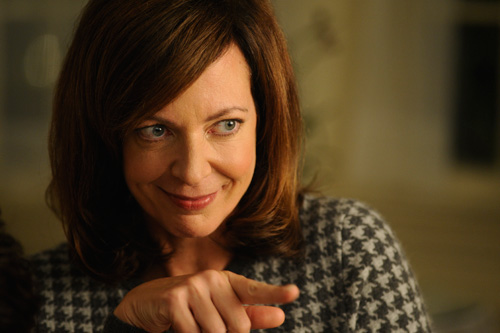 Allison Janney is an controlling mother in 'The Oranges'