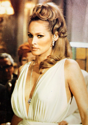 Ursula Andress, who appeared in the official 007 production 'Dr. No,' played a role in the 1967 parody 'Casino Royale'