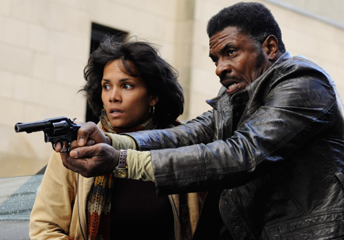 Halle Berry and Keith David in 'Cloud Atlas'