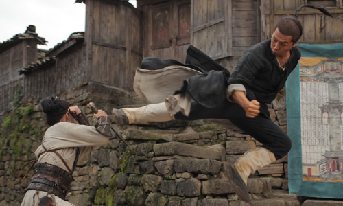 Donnie Yen delivers swift kick in 'Dragon' ('Wu Xia')