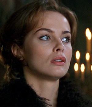 Izabella Scorupco is a computer specialist who helps 007 in 'Goldeneye'