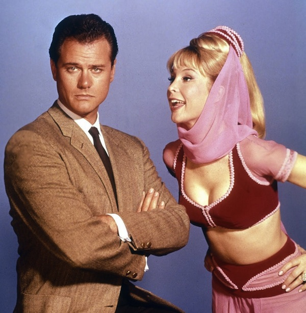 Larry Hagman Starred With The Sexy Barbara Eden In The S