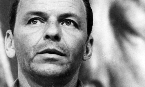 Frank Sinatra in 1962's 'The Manchurian Candidate'