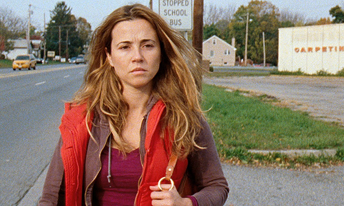 Linda Cardellini is a struggling veteran who comes home after a year in the war zone in 'Return'