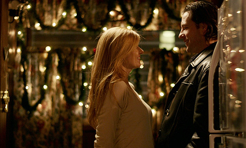 Connie Britton and Ed Burns in 'The Fitzgerald Family Christmas'