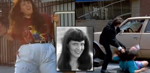 Linda Kaye was thrown from a car in 'Reservoir Dogs' and shot in 'Pulp Fiction'
