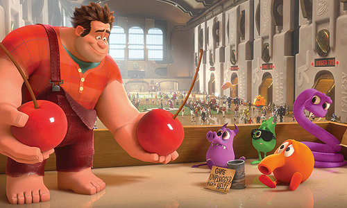 Q*Bert is having a hard time of it in 'Wreck It Ralph'