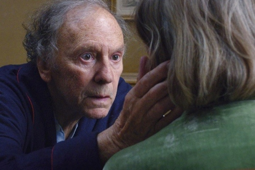 """""""Georges"""" and """"Anne"""" in a scene from 'Amour'"""