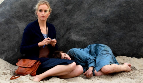 Nina Hoss and Jasna Fritzi Bauer in 'Barbara'
