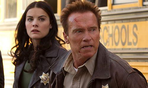 Jaimie Alexander fights alongside Schwarzenegger in 'The Last Stand'