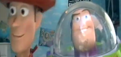 'Toy Story' with real toys