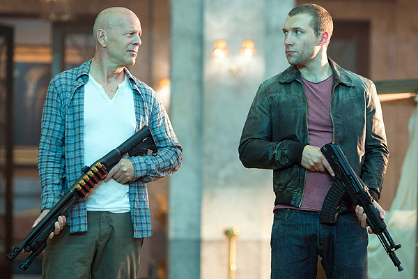 Bruce Willis returns for a fifth round as John McClane, this time joined by his son (played by Jai Courtney) in 'A Good Day to Die Hard'