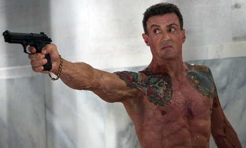 66-year-old Sylvester Stallone still looks bad ass