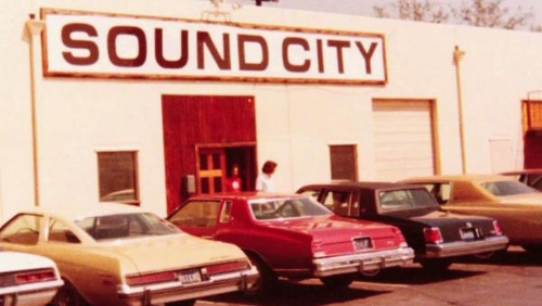 This was the place where the music magic happened.  Sound City  Studio in Van Nuys, CA