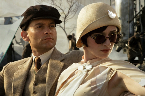 Tobey Maguire and Elizabeth Debicki in 'The Great Gatsby'