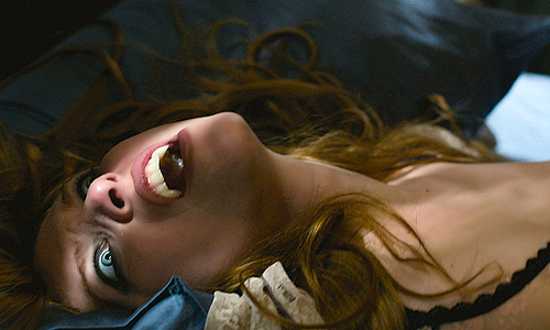 Joséphine de La Baume bares her fangs in 'Kiss of the Damned'