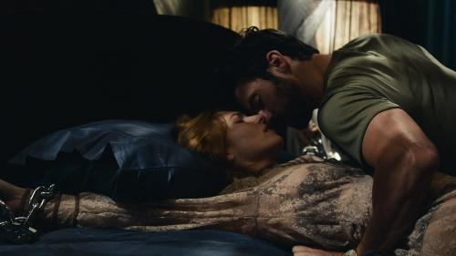 Josephine de La Baume and Milo Ventimiglia in 'Kiss of the Damned