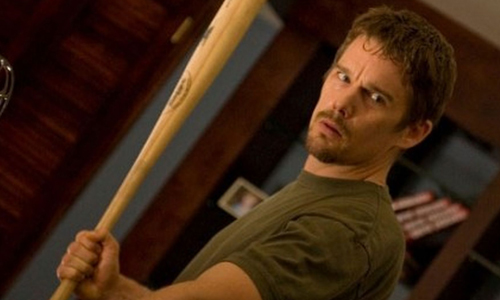 Ethan Hawke fights to survive 'The Purge'