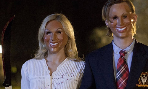 Masked maniacs rule the night in 'The Purge'
