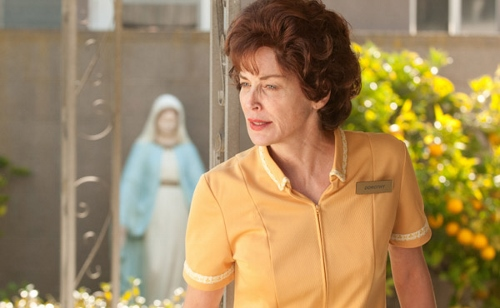 Sharon Stone brings Dorothy Boreman, mother of the title character in 'Lovelace' to life