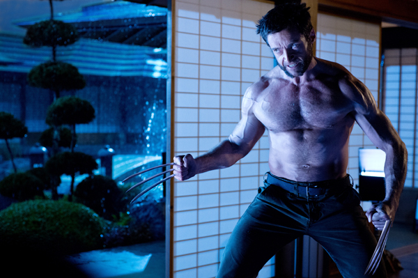 Hugh Jackman bares more than his claws in 'The Wolverine'