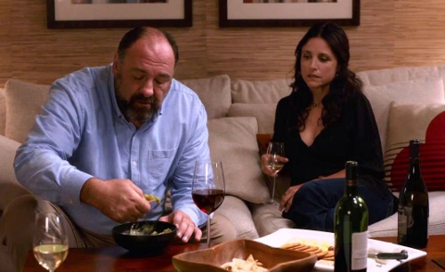 James Gandolfini and Julia-Louis Dreyfuss have wonderful chemistry in 'Enough Said'