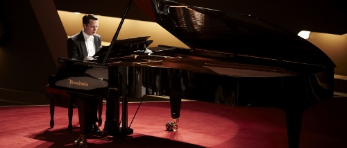Elijah Wood stars in 'Grand Piano'