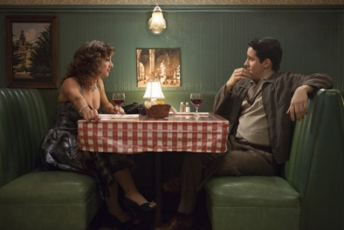 John Lloyd Young and Renee Marino in 'Jersey Boys'