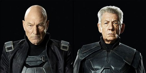 Patrick Stewart and Ian McKellan in 'X-Men: Days of Future Past'