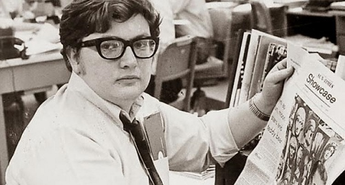 Roger Ebert in his early days at the Chicago Sun-Times