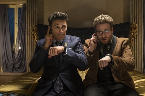 "James Franco and Seth Rogen in ""The Interview"""