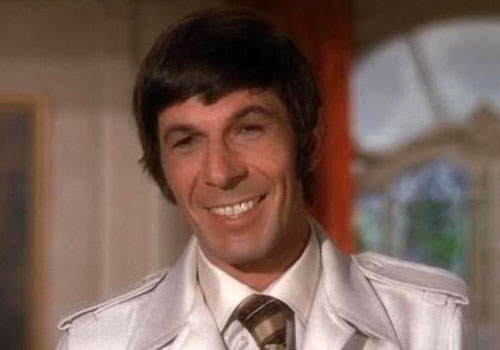 "Leonard Nimoy in his role as ""Paris"" on 'Mission Impossible'"