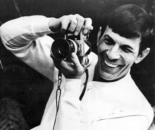 Leonard Nimoy loved photography