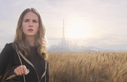 "Britt Robertson as ""Casey Newton"" in 'Tomorrowland'"