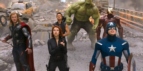 'The Avengers' gather for action