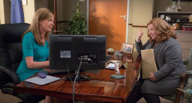 Allison Janney and Melissa McCarthy in 'Spy'