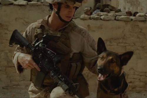 Ronnie Amell and Max in 'Max'
