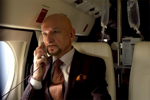 "Ben Kingsley as ""Damian Hale"" in 'Self/less' before he sheds this body"