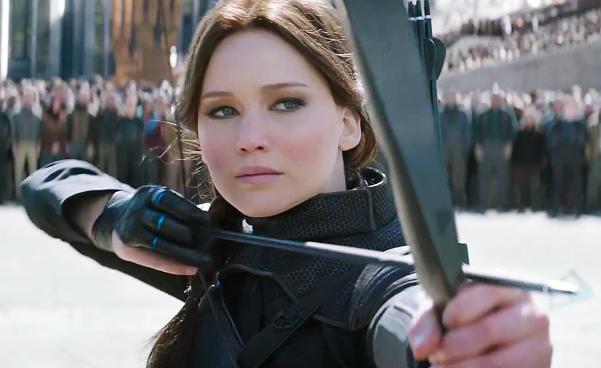 Jennifer Lawrence in 'The Hunger Games: Mockingjay - Part 2'.