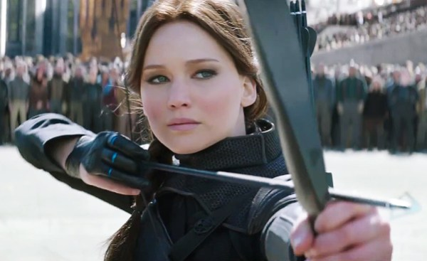 Jennifer Lawrence in 'The Hunger Games: Mockingjay - Part 2'.