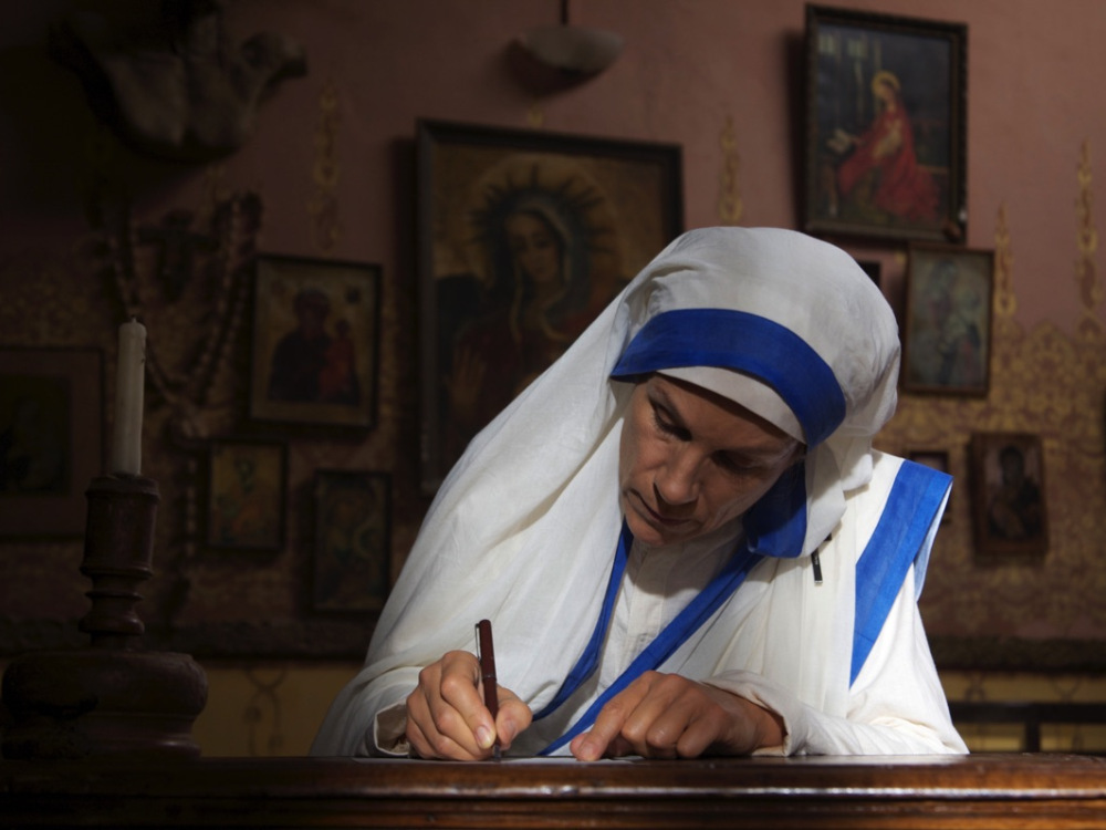 Juliet Stevenson as Mother Teresa in 'The Letters'.